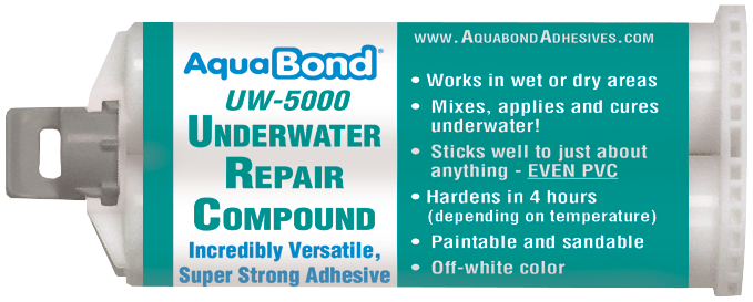 Underwater Repair Epoxy Adhesive For Swimming Pools Spas